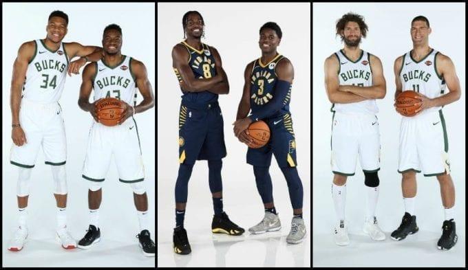 Insólito: Tres parejas de hermanos jugando y anotando en un mismo partido en la NBA (Vídeo)