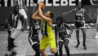 Así es Alina Iagupova, posiblemente la mejor jugadora de baloncesto en Europa
