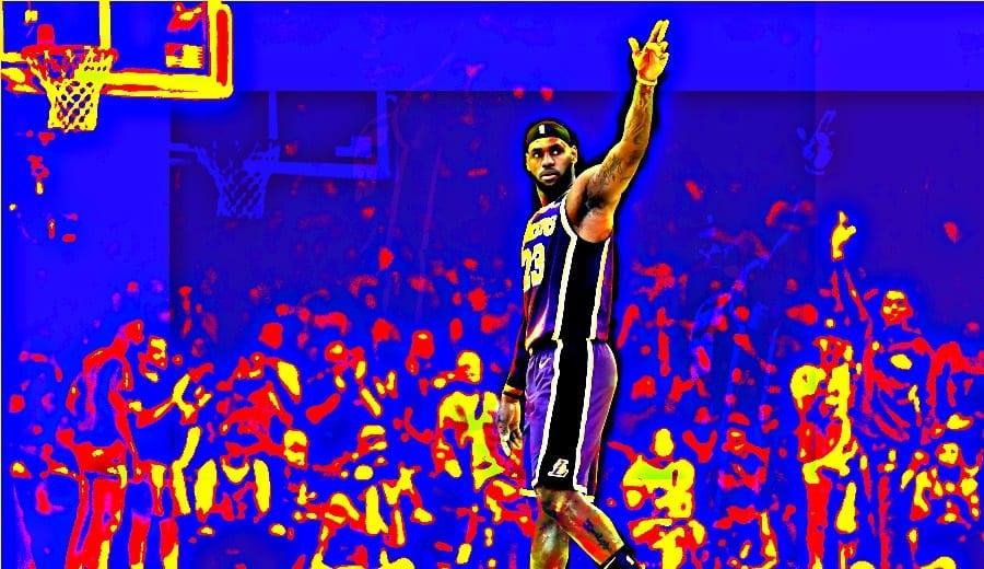 Los Lakers siguen la buena racha y LeBron hace historia con un triple-doble (Vídeo)