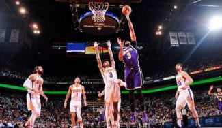¿Qué pasó en el partidazo entre Lakers y Suns? Ricky y Anthony Davis brillan en un gran duelo