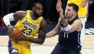 Histórico doble 'triple-doble' de LeBron James y Luka Doncic