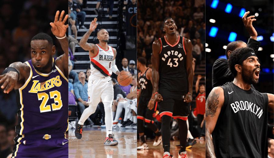 Una de las noches más locas de la NBA: Exhibiciones, prórroga, números históricos, récords… (Vídeo)