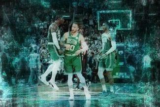 El partido casi perfecto de Gordon Hayward con los Celtics: datos históricos