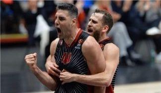 Exhibición de Sergio Rodríguez y Luis Scola en la victoria del Olimpia Milán