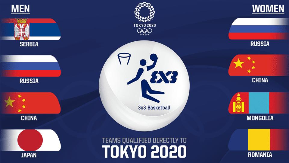 FIBA 3X3 Tokio 2020