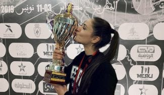 Conmovedora: la historia de Laura Chahrour, una española ganando en el Líbano