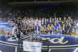 Basket, navidad y solidaridad, juntos en Burgos este domingo