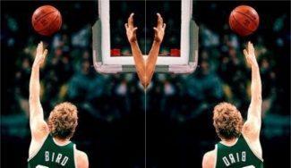 El día que Larry Bird decidió dominar en la NBA… lanzando con la mano izquierda (Vídeo TOP)