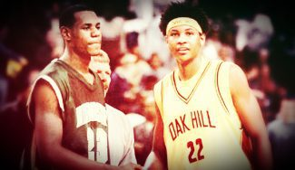 LeBron James contra Carmelo Anthony en su época de instituto. Un clásico del baloncesto completo