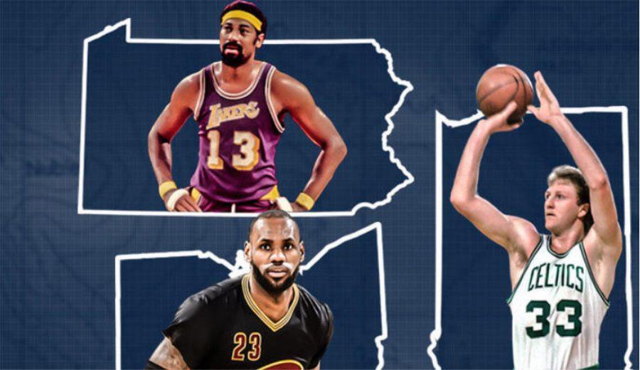 Peculiar clasificación: ¿Quién es el mejor jugador NBA en cada estado? Kobe e Iverson no lideran el suyo