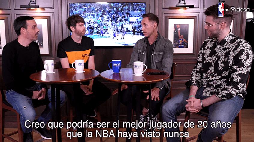 Steve Nash en España: Habla sobre su relación con Dirk, tema Pau, fútbol y ojo lo que dice de Doncic