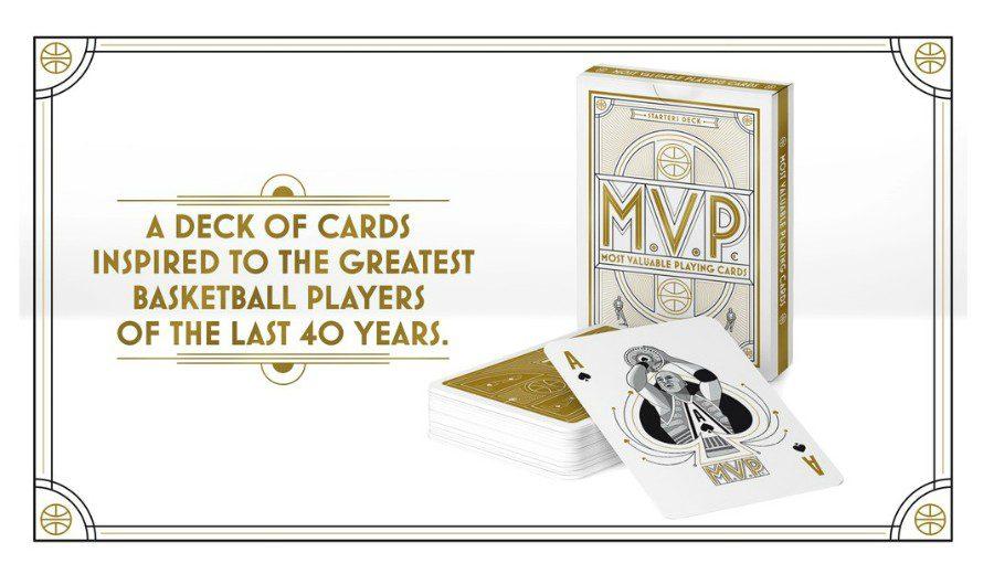 Curiosa iniciativa: el MVP de las barajas de cartas
