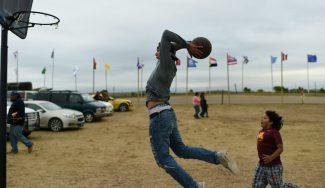 India y el baloncesto, de la mano: crowdfunding para mejorar canchas en dicho país