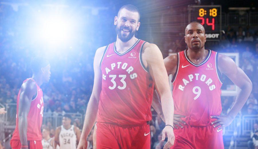 ¡Vaya dos! Marc Gasol y Serge Ibaka se lucen en la vuelta a la dinámica positiva de los Raptors