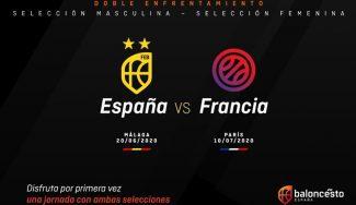 Oficial: Málaga y París vivirán un doble España-Francia como preparación de los JJOO
