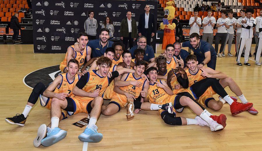 El Gran Canaria gana el ANGT de Valencia y peleará por llevarse la Euroliga júnior
