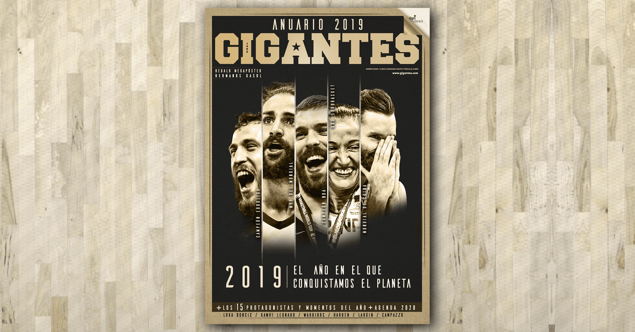 Descubre los contenidos de la Gigantes de enero, un número muy especial. ¡Ya a la venta!