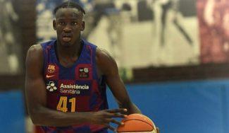 8 tapones con el filial del Barça para Ibou Badji: te lo presentamos