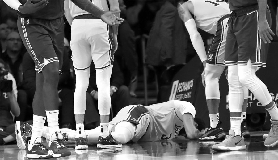 Todo lo que se sabe sobre la nueva lesión de Anthony Davis