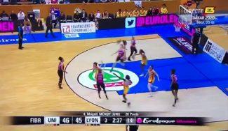 Polémica en la Euroliga femenina: una canasta de dos es considerada triple y el Girona pierde un partido agónico