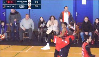 El gran estreno de Junior Robinson en LEB Plata. Una última acción… (Vídeo)