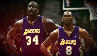 Kobe vs Shaq: el día que nos postramos llorando