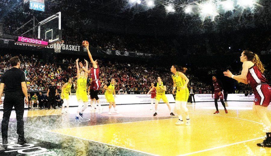 El Lointek Gernika mete a más de 5000 aficionados en casa para un partido de la Liga Femenina Endesa