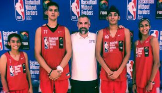 Un entrenador español trabajando en India para la NBA: esta es su historia