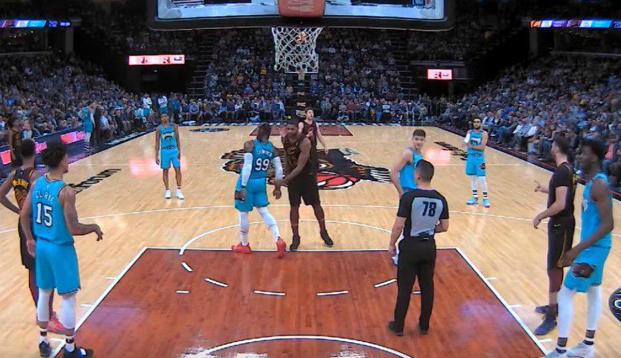 Nada tiene sentido en Cleveland: Tristan Thompson expulsado… ¡por dar en el culo a un rival!