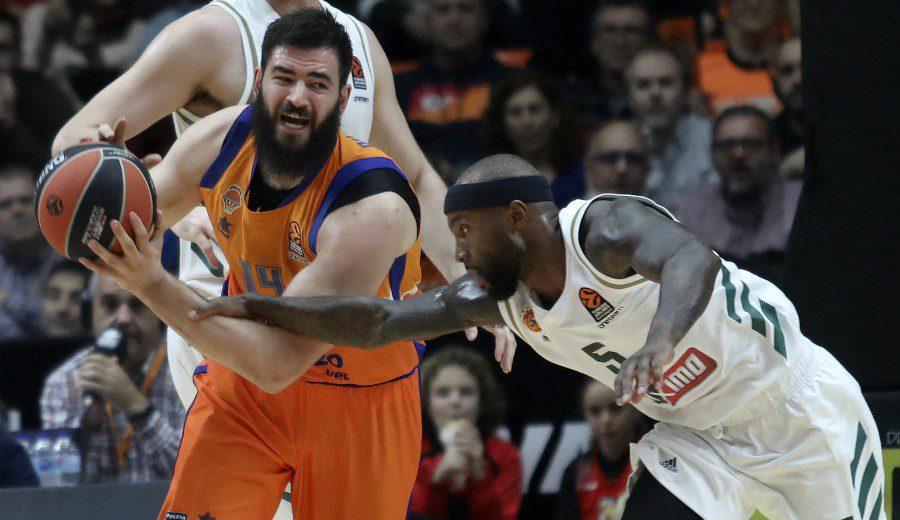 El Valencia Basket sobrevive al amago de remontada del Panathinaikos