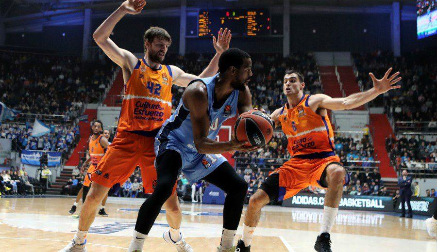 Impresionante estado de forma del Valencia Basket: victoria ante el Zenit