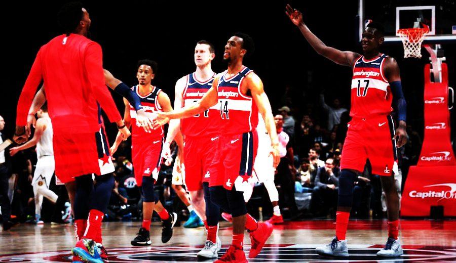 ¡Salvaje! El increíble dato del banquillo de los Washington Wizards en su último partido…