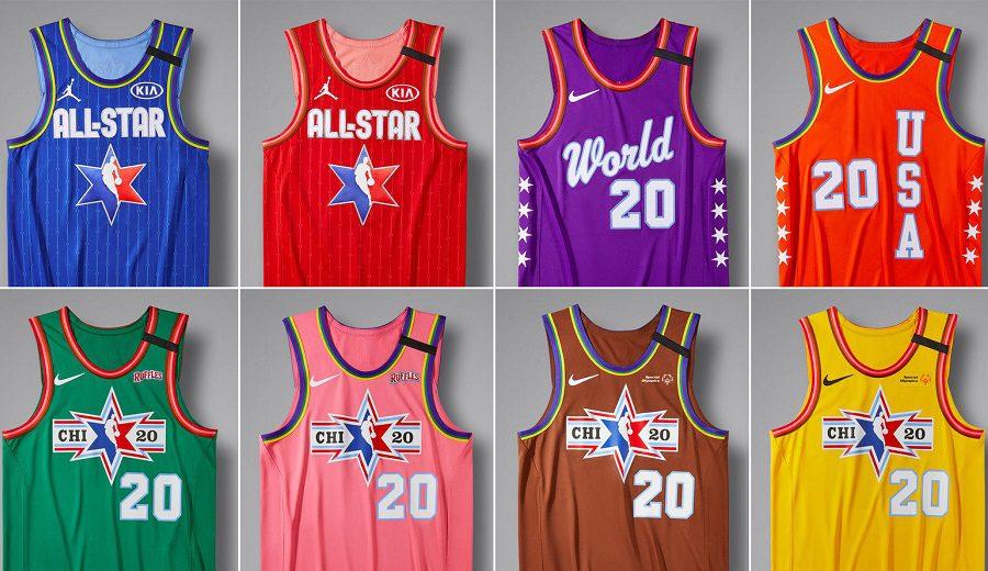 8 uniformes para el All-Star NBA 2020 y su explicación