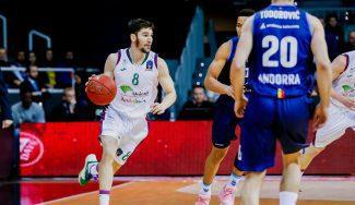 MoraBanc Andorra pierde con el Unicaja y aún no conoce la victoria en el Top16