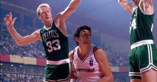 Pep Cargol y una anécdota tras jugar ante los Celtics de Bird con el Real Madrid