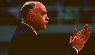 Pablo Laso explica cómo sobrevive a las rutinas del calendario del Real Madrid
