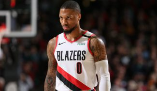 Lo de Lillard es un no parar: los datos de su mejor año NBA