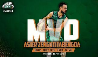 Asier Zengotitabengoa, MVP de la jornada en la Pro B francesa