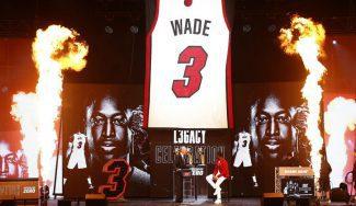 Dwyane Wade ya es leyenda de los Miami Heat. La ceremonia de su retirada… (Vídeo)