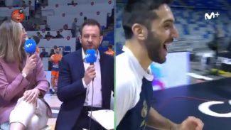 Lo mejor de una de las grandes novedades de la Copa: el formato de entrevistas prepartido (Vídeo)