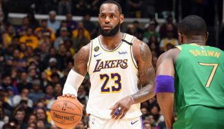 Vuelve el Clásico: Lakers y Celtics firman un partidazo. Canasta decisiva de LeBron (Vídeo)