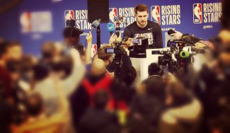Luka Doncic, durante el Media Day: Real Madrid, Campazzo, LeBron James…