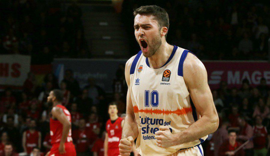 El Valencia Basket se afianza en puestos de playoffs a costa del colista