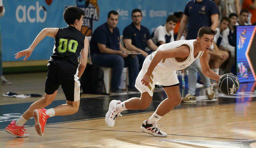 Francisco Zustovich ya brilla en la Minicopa Endesa con el Real Madrid