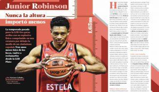 Junior Robinson y cómo nunca la altura importó menos, por Mariano Galindo