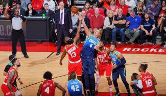 Los Rockets ganan a unos Mavs sin Doncic… con un equipo sin altos