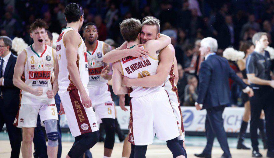 El matagigantes Reyer Venezia gana su primera Coppa