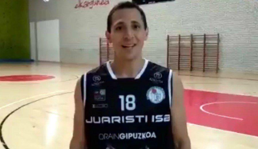 Sensacional debut de Fede Van Lacke, con 39 años, en su aventura con el Juaristi en LEB Plata