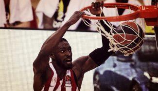Brandon Paul analiza la peculiar temporada del Olympiacos, jugando sólo Euroliga