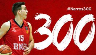 Iñaki Narros, el 'ironman' que hace historia en el Navarra Basket